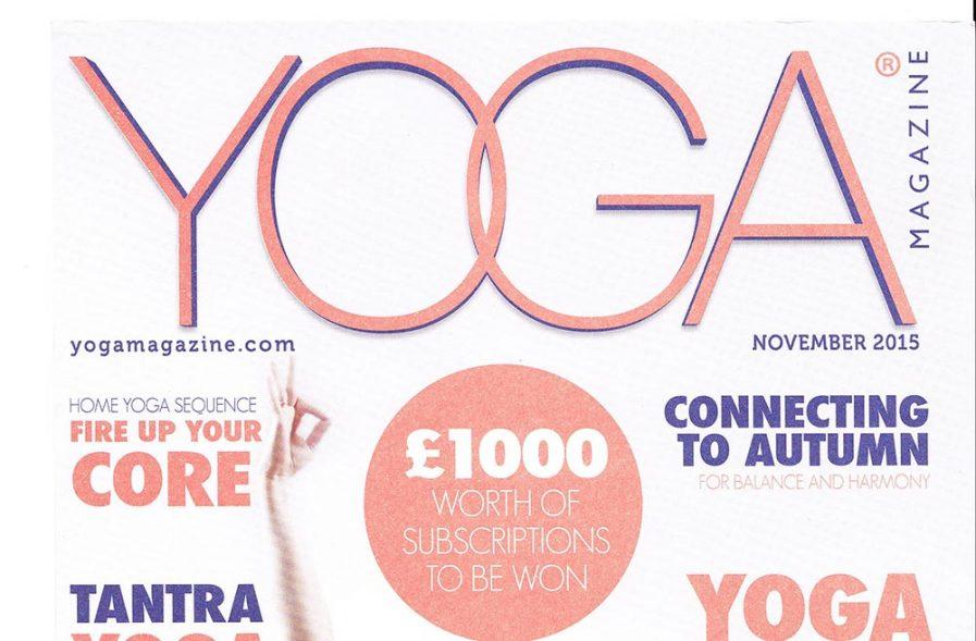 My Newest Piece For Yoga Magazine Enjoy